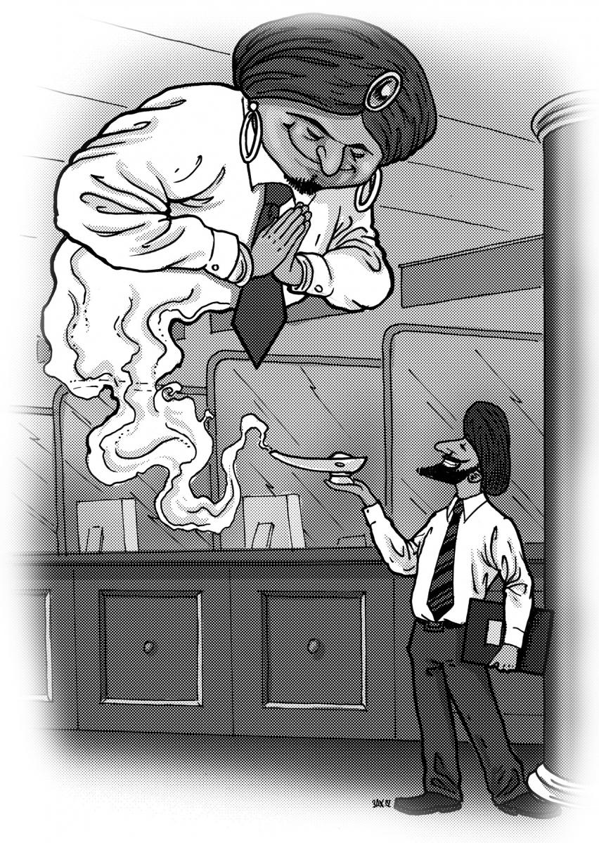 Karikatura - aspekty islámského bankovnictví