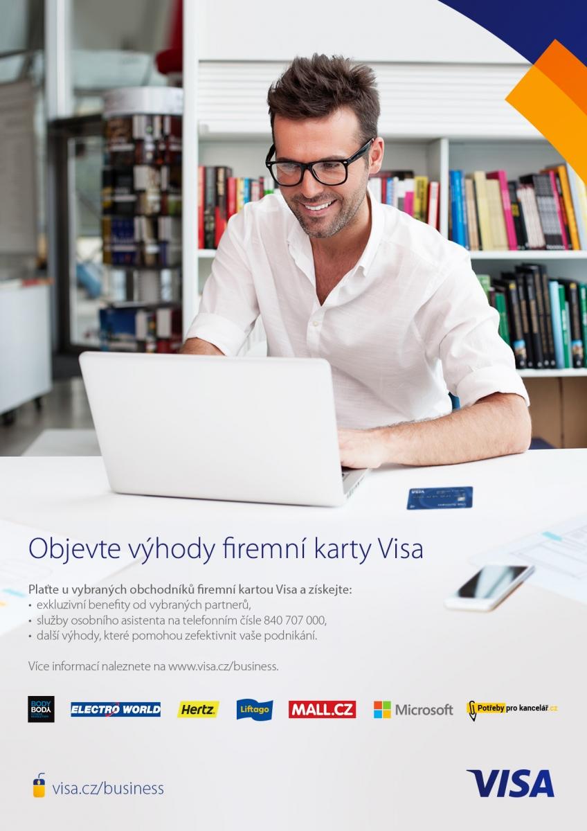 Visa Business výhody_generický vizuál