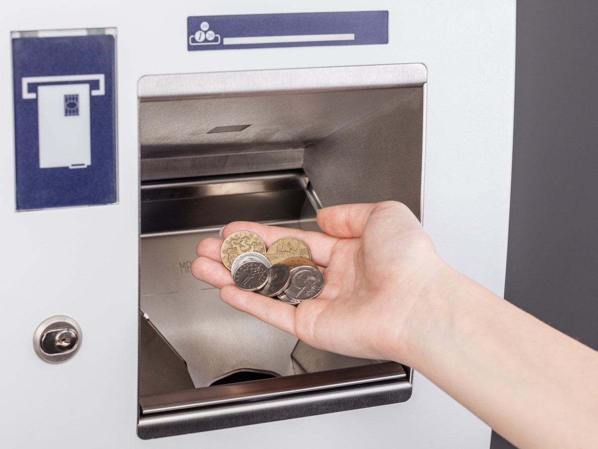 Foto-mince a vklad