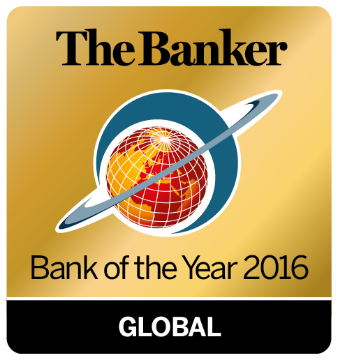Bank of the Year logo