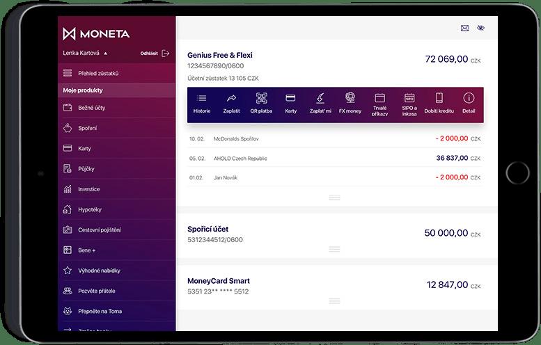 Smart Banka pro iPad