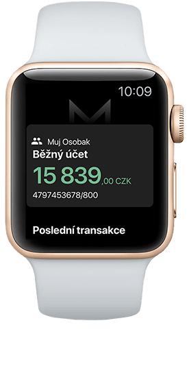 Smart Banka_Apple Watch app