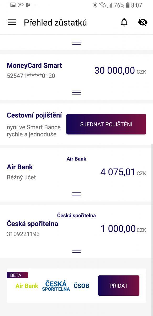 Smart Banka_multibanking bila