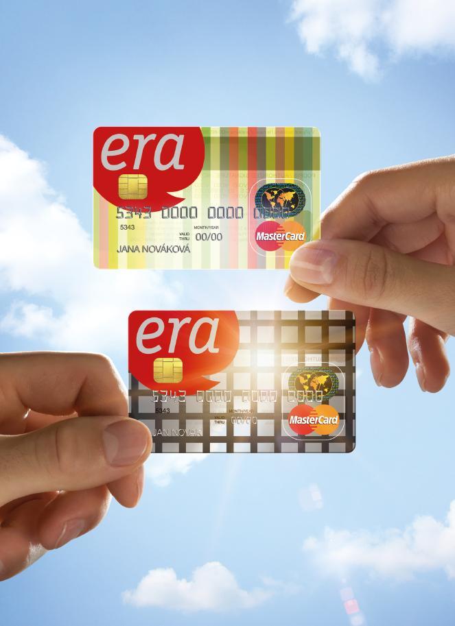 Era Ma Pro Klienty Pruhledne Platebni Karty Mastercard Bankovni